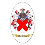 MacKibbon Sticker (Oval 50 pk)
