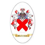 MacKibben Sticker (Oval 10 pk)