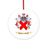 MacKibben Ornament (Round)