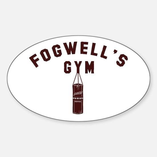 Daredevil Fogwell's Gym Sticker (Oval)