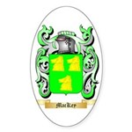 MacKey Sticker (Oval 50 pk)