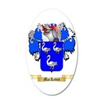 MacKevin 35x21 Oval Wall Decal