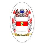 MacKeterick Sticker (Oval 50 pk)