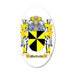 MacKerlie 35x21 Oval Wall Decal