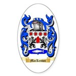 MacKeown Sticker (Oval 50 pk)