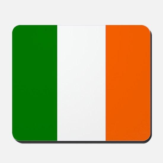 Borderless Square irish Flag Mousepad