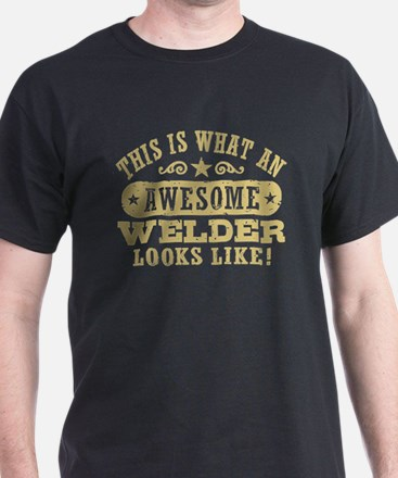 Awesome Welder T-Shirt
