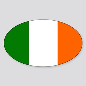 Flag of Ireland Borderles Sticker