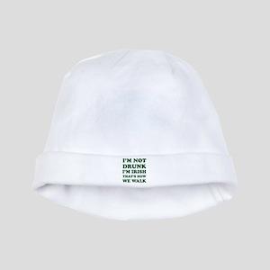 Im Not Drunk Im Irish - Washed baby hat