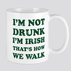 Im Not Drunk Im Irish - Washed Mugs