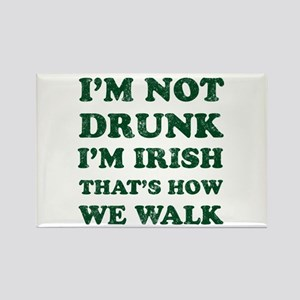 Im Not Drunk Im Irish - Washed Magnets