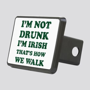 Im Not Drunk Im Irish - Wa Rectangular Hitch Cover