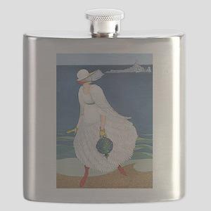 VOGUE - Bride on the Seashore Flask