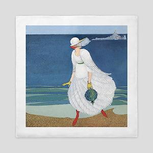VOGUE - Bride on the Seashore Queen Duvet