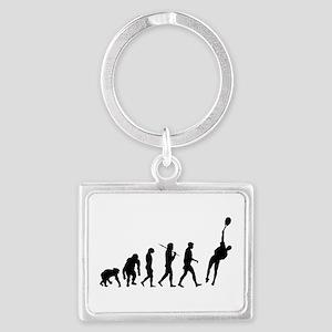 Evolution Tennis Keychains