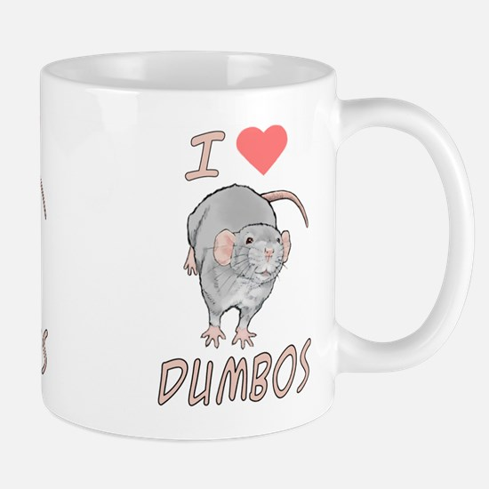 Cute Dumbo rat Mug