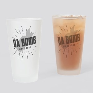 Birthday Born 1985 Da Bomb Drinking Glass