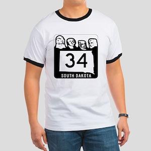 South Dakota 34 Shield T-Shirt