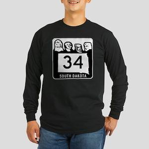 South Dakota 34 Shield Long Sleeve T-Shirt