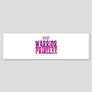NF Warrior Princess Bumper Sticker