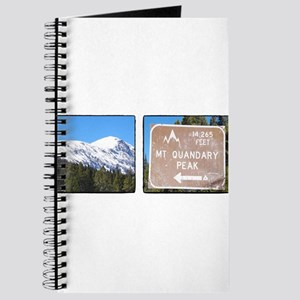 Quandary Peak and info Journal