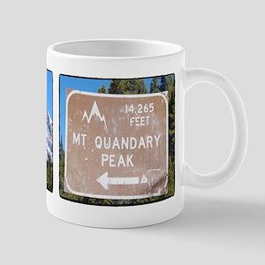 Quandary Peak and info Mugs