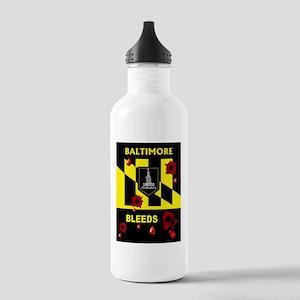 BALTIMORE BLEEDS Water Bottle