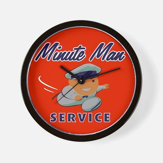 Minute Man Wall Clock