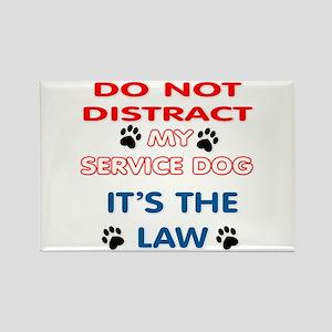 SERVICE DOG Magnets