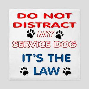 SERVICE DOG Queen Duvet