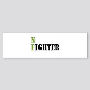 NF Fighter Olive Bumper Sticker