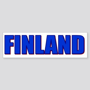 Finland Impact Bumper Sticker