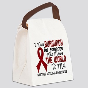 Multiple Myeloma MeansWorldToMe2 Canvas Lunch Bag