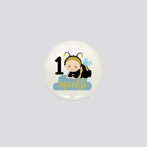 1 Month Monthly Milestone Mini Button