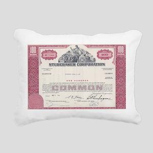 Studebaker 1966 RED Rectangular Canvas Pillow