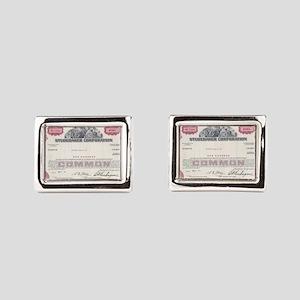 Studebaker 1966 RED Rectangular Cufflinks