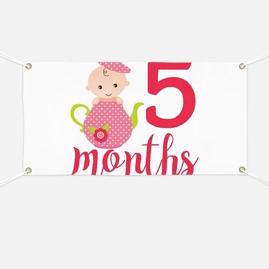 5 Months Monthly Milestone Banner