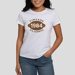 1984 Birth Year Birthday Women's T-Shirt