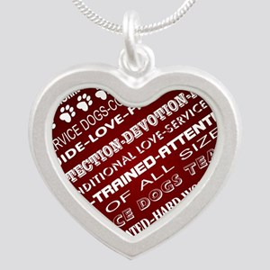 SERVICE DOG WORDS Necklaces