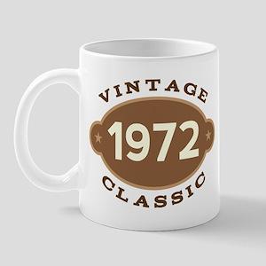 1972 Birth Year Birthday Mug
