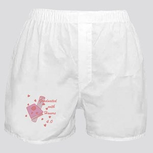 Graduated With Honors 4.0 Boxer Shorts