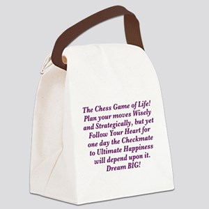 The Chess Game of Life! Canvas Lunch Bag