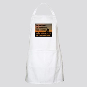 LAST WARNING Apron
