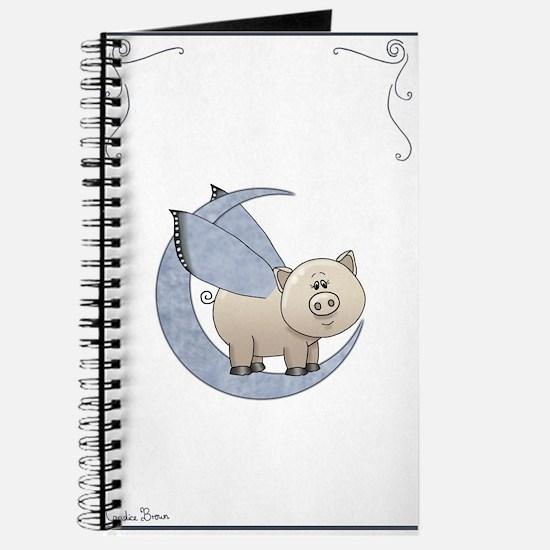Cute Teacup pig Journal
