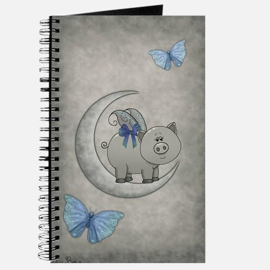 Unique Teacup pig Journal