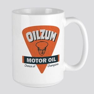 OilZum Retro Logo Mugs