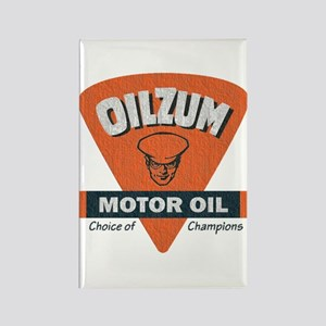OilZum Retro Logo Magnets