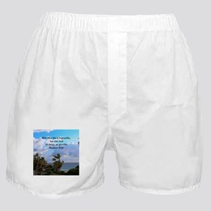 MATTHEW 19:26 VERSE Boxer Shorts