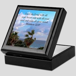 MATTHEW 22:37 Keepsake Box