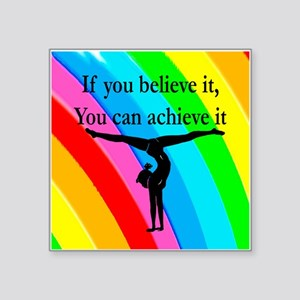 "GYMNAST INSPIRATION Square Sticker 3"" x 3"""